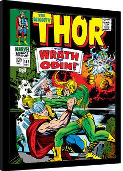 Innrammet plakat Thor - Wrath of Odin