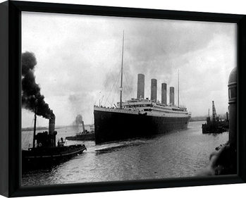 Innrammet plakat TITANIC (4)
