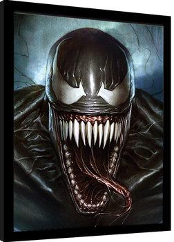 Innrammet plakat Venom - Sinister Smile