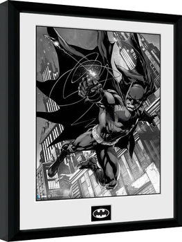 Batman Comic - Hook Innrammet plakat