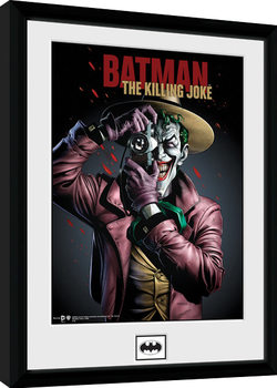 Batman Comic - Kiling Joke Portrait Innrammet plakat