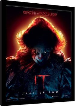 IT: Chapter Two - Come Back and Play Innrammet plakat