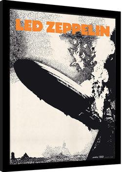 Led Zeppelin - Led Zeppelin I Innrammet plakat