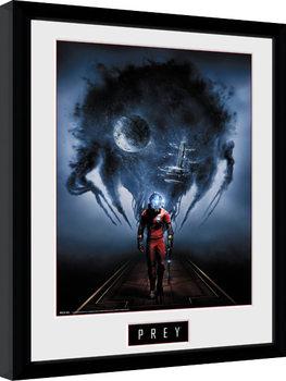 Prey - Key Art Innrammet plakat