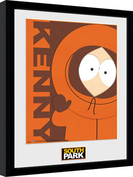 South Park - Kenny Innrammet plakat