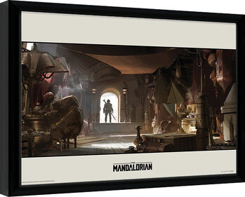 Star Wars: The Mandalorian - Entrance Innrammet plakat