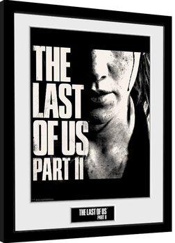 The Last Of Us Part 2 - Face Innrammet plakat