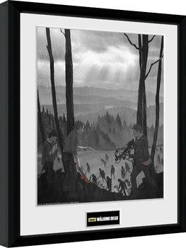 The Walking Dead - The Long Way Home Innrammet plakat