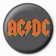 AC/DC - LOGO Insignă