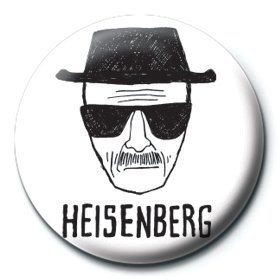 Breaking Bad - Heisenberg paper Insignă