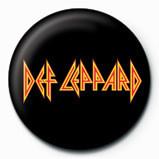 DEF LEPPARD - logo Insignă