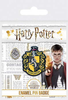 Insignă Harry Potter - Hufflepuff