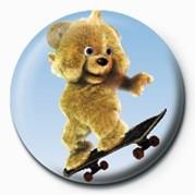 JAMSTER - Brown Bear (Skat Insignă