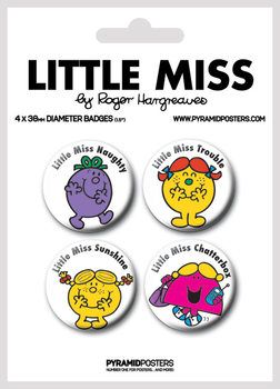 Set insigne Little Miss - Characters