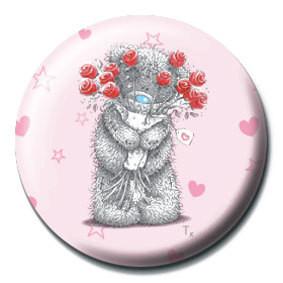 ME TO YOU - flores Insignă