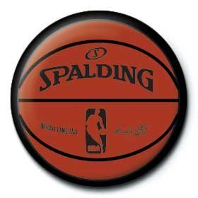NBA - game ball Insignă