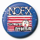 NOFX - WAR ON ERROISM Insignă