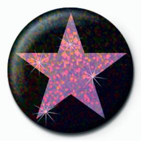 PINK STAR Insignă