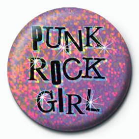PUNK ROCK GIRL Insignă