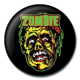 ROB ZOMBIE - zombie face Insignă