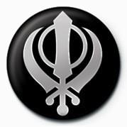 SIKH (FAITH SYMBOL) Insignă