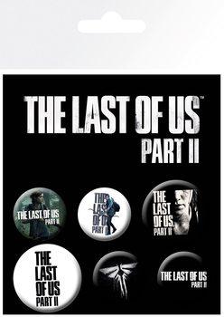 Set insigne The Last Of Us 2 - Ellie