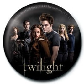 TWILIGHT - cast Insignă
