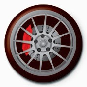 Wheel Insignă