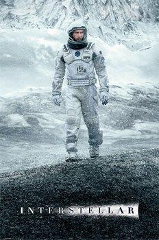 Interstellar - Ice Walk - плакат (poster)