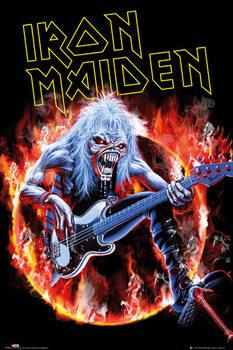 Iron Maiden - fear live - плакат (poster)