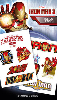 Tatuaje Iron Man 3 - Characters
