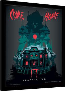 Πλαισιωμένη αφίσα IT: Chapter Two - Come Home