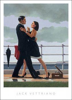 Jack Vettriano - Anniversary Waltz Festmény reprodukció