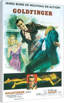 Plagát Canvas James Bond: Goldfinger - Foreign Language