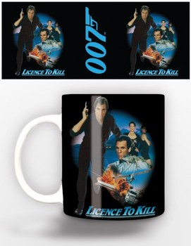 Becher James Bond - licence to kill