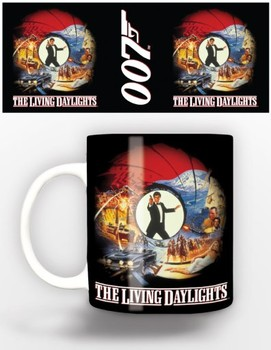 Taza James Bond - living day lights