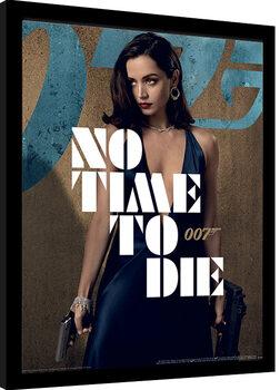 Πλαισιωμένη αφίσα James Bond: No Time To Die - Paloma Stance