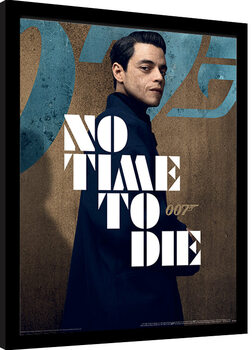 Πλαισιωμένη αφίσα James Bond: No Time To Die - Saffin Stance