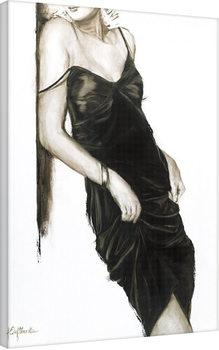 Pinturas sobre lienzo Janel Eleftherakis - Little Black Dress I