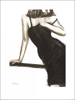 Janel Eleftherakis - Little Black Dress III Festmény reprodukció