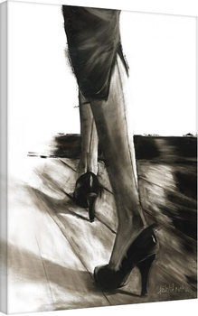 Pinturas sobre lienzo Janel Eleftherakis - Little Black Dress IV