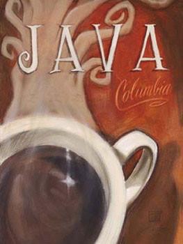 Java Columbia Festmény reprodukció