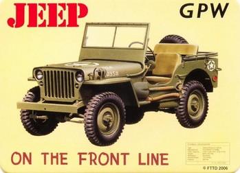JEEP - gpw Magnet