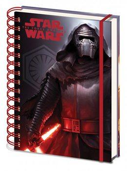 Jegyzetfüzet Csillagok háborúja VII (Star Wars: Az ébredő Erő) - Dark A5