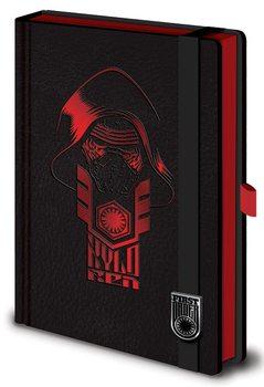 Jegyzetfüzet Csillagok háborúja VII (Star Wars: Az ébredő Erő) - Kylo Ren Premium A5