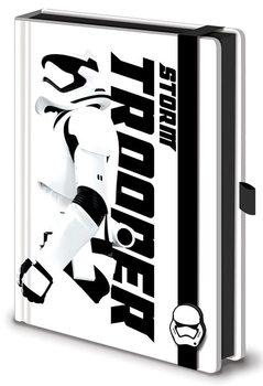 Jegyzetfüzet Csillagok háborúja VII (Star Wars: Az ébredő Erő) - Stormtrooper Premium A5
