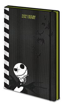 Diary 2021 - Karácsonyi lidércnyomás (EN) jegyzetfüzet