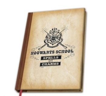 Jegyzetfüzet Harry Potter - Hogwarts School