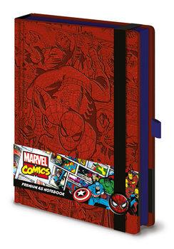 Jegyzetfüzet Marvel  Spider-Man A5 Premium