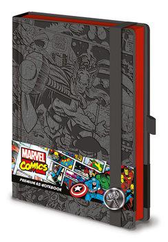 Jegyzetfüzet Marvel  Thor A5 Premium
